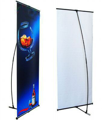 L Shaped Banner 80*200MM