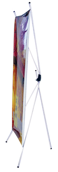 PGSI Outdoor X Banner Stand with case